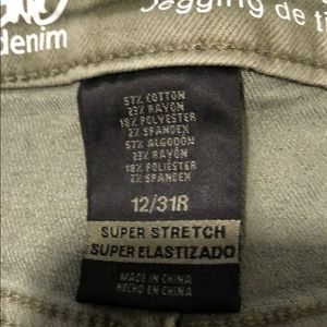 Mossimo Supply Co. Jeans - Olive green jeggings!